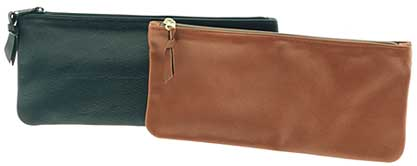 leather bank bags