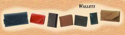 Men's Leather Wallet, Women's Leather Wallets of rich 'Naked Leather' from Leather Accessories.Net