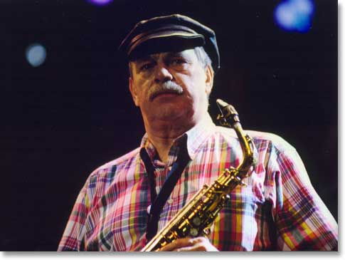 Phil Woods and his hat